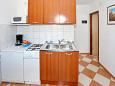 Bibinje, Kitchen u smještaju tipa apartment, WIFI.