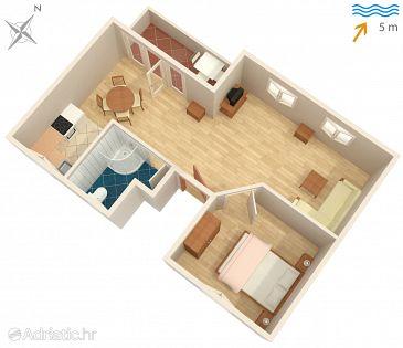 Apartment A-6163-b - Apartments Mali Iž (Iž) - 6163