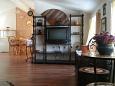 Mali Iž, Living room u smještaju tipa apartment, dopusteni kucni ljubimci.