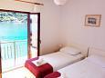 Bedroom 1 - Apartment A-618-a - Apartments Prožurska Luka (Mljet) - 618