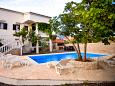Courtyard Vinjerac (Zadar) - Accommodation 6187 - Apartments near sea with sandy beach.