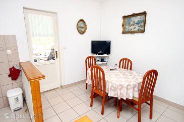 Vrsi - Mulo, Dining room u smještaju tipa apartment, WIFI.