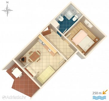 Apartment A-6231-d - Apartments Srima - Vodice (Vodice) - 6231