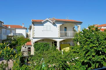 Property Vodice (Vodice) - Accommodation 6236 - Apartments with pebble beach.