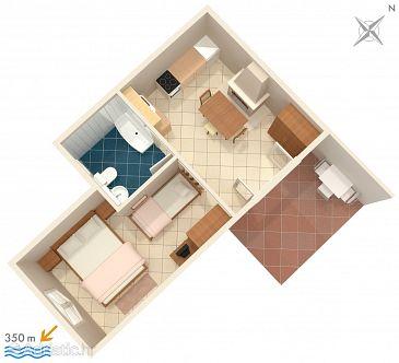 Apartment A-624-d - Apartments Hvar (Hvar) - 624