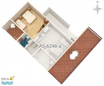 Studio flat AS-6248-b - Apartments and Rooms Biograd na Moru (Biograd) - 6248