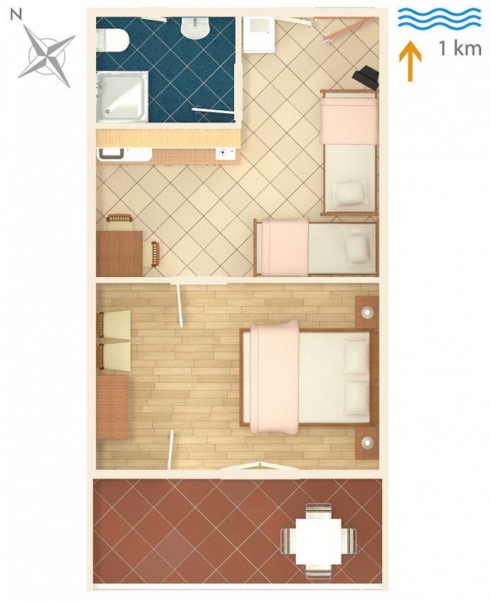 Apartmány s parkoviskom v meste Sabunike - 6258