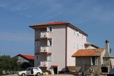 Property Jakišnica (Pag) - Accommodation 6274 - Apartments near sea with pebble beach.