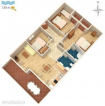 Apartment A-6279-a - Apartments Novalja (Pag) - 6279