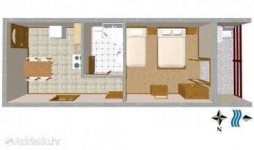 Apartment A-628-a - Apartments Prapratno (Pelješac) - 628