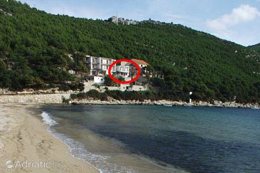 Property Prapratno (Pelješac) - Accommodation 628 - Apartments near sea with sandy beach.