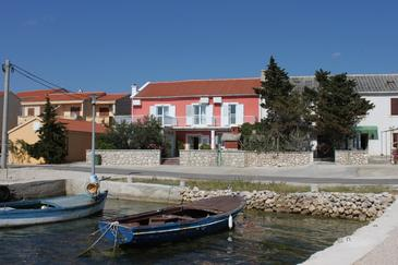 Property Kustići (Pag) - Accommodation 6288 - Rooms near sea with pebble beach.