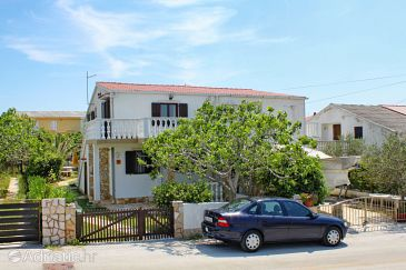 Property Povljana (Pag) - Accommodation 6295 - Apartments with sandy beach.