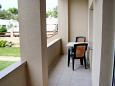 Balcony - Apartment A-6300-d - Apartments Privlaka (Zadar) - 6300