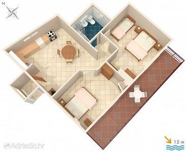 Apartment A-631-d - Apartments Podobuče (Pelješac) - 631