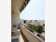 Novalja, Balcony u smještaju tipa apartment, s pogledom na more i WIFI.