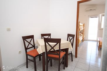 Metajna, Dining room u smještaju tipa apartment, WIFI.