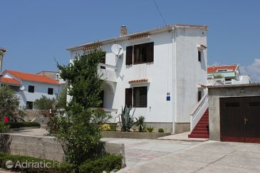 Property Novalja (Pag) - Accommodation 6343 - Apartments with pebble beach.