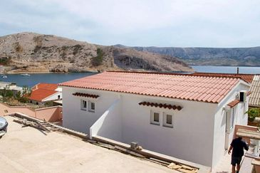 Property Metajna (Pag) - Accommodation 6351 - Apartments near sea with pebble beach.