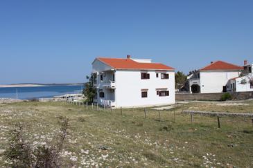 Property Kustići (Pag) - Accommodation 6353 - Apartments near sea with pebble beach.