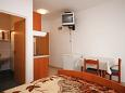 Bedroom - Studio flat AS-6357-b - Apartments and Rooms Zubovići (Pag) - 6357
