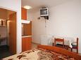 Zubovići, Bedroom u smještaju tipa studio-apartment, dostupna klima i WIFI.