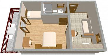 Apartment A-636-a - Apartments Postup (Pelješac) - 636