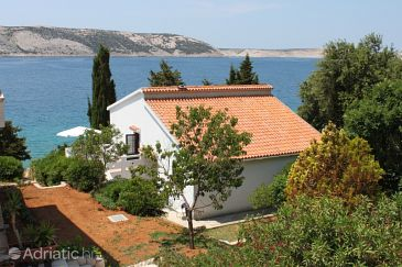 Property Stara Novalja (Pag) - Accommodation 6365 - Apartments near sea with pebble beach.
