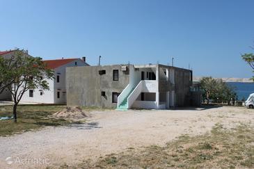 Vidalići, Pag, Property 6377 - Apartments blizu mora with pebble beach.