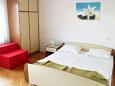 Bedroom - Studio flat AS-6379-d - Apartments Metajna (Pag) - 6379