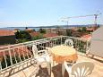 Orebić, Terrace u smještaju tipa studio-apartment, s pogledom na more i WIFI.