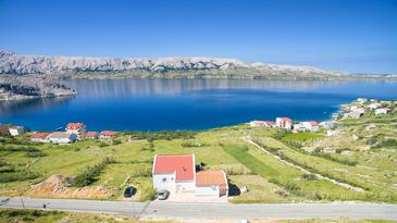 Property Metajna (Pag) - Accommodation 6389 - Apartments with pebble beach.