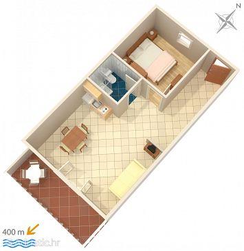 Apartment A-639-d - Apartments Mokalo (Pelješac) - 639