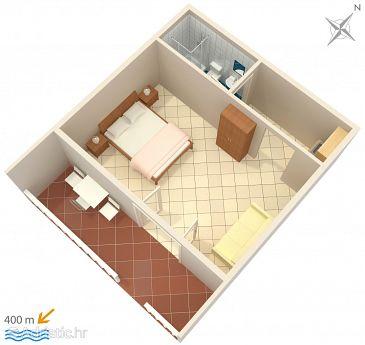 Studio flat AS-639-b - Apartments Mokalo (Pelješac) - 639