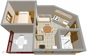 Apartment A-640-e - Apartments Orebić (Pelješac) - 640