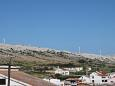 Balcony - view - Studio flat AS-6400-b - Apartments Pag (Pag) - 6400