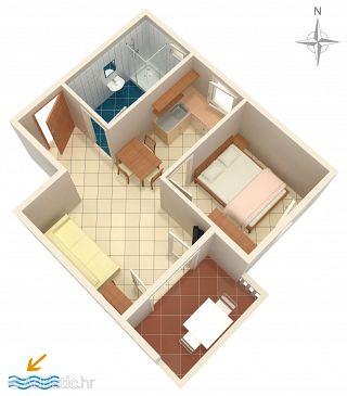Apartment A-6405-f - Apartments Mandre (Pag) - 6405