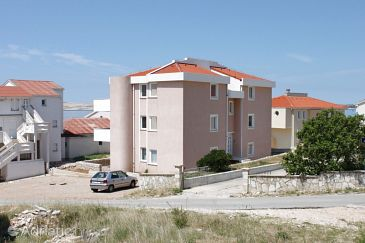 Property Kustići (Pag) - Accommodation 6408 - Apartments near sea with pebble beach.
