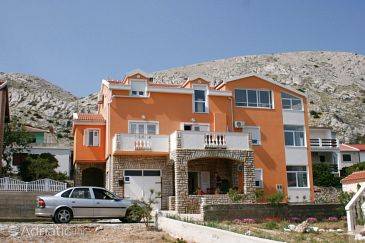 Property Pag (Pag) - Accommodation 6412 - Apartments near sea with pebble beach.