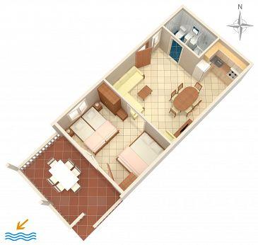 Apartament A-6426-b - Apartamenty Metajna (Pag) - 6426