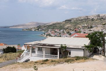 Property Metajna (Pag) - Accommodation 6426 - Apartments with sandy beach.