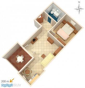 Apartment A-6432-d - Apartments Novalja (Pag) - 6432