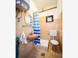 Zadar - Diklo, Bathroom 1 u smještaju tipa apartment, WIFI.