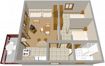 Apartment A-646-a - Apartments Orebić (Pelješac) - 646