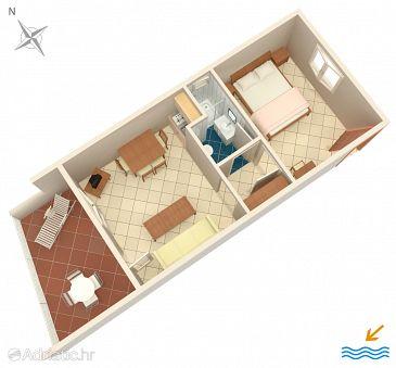 Apartment A-6474-d - Apartments Mandre (Pag) - 6474
