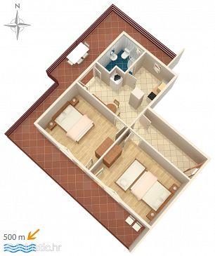 Apartment A-6478-a - Apartments Bilo (Primošten) - 6478