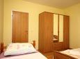 Orebić, Bedroom 2 u smještaju tipa apartment, dostupna klima, dopusteni kucni ljubimci i WIFI.