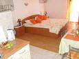 Bedroom - Studio flat AS-648-a - Apartments Orebić (Pelješac) - 648