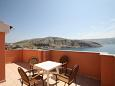 Terrace - Room S-6487-m - Rooms Metajna (Pag) - 6487