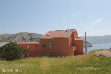 Property Metajna (Pag) - Accommodation 6487 - Rooms near sea with sandy beach.